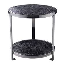 small accent table ls geometric mixed metal occassional side tables set of 2