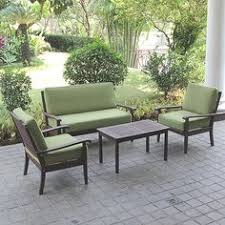 Walmart Patio Conversation Sets Better Homes And Gardens Englewood Heights 4 Piece Patio