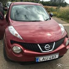 red nissan 2012 nissan juke 2012 suv 1 6l petrol manual for sale paphos