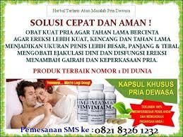 ramuan obat kuat tradisional untuk pria berkhasiat dahsyat dan aman