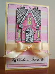 gingham little pink houses sketch