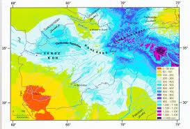 Hindu Kush Map Center For Afghanistan Studies University Of Nebraska Omaha
