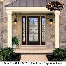 Exterior Door Colors What The Color Of Your Front Door Says About You Sensational Color