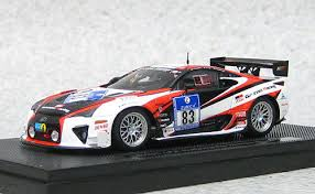 lexus lfa racing ebbro 44891 lexus lfa nurburgring 24hr race 2012 test car resin