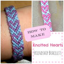 heart bracelet friendship images Paper tape pins how to make knotted hearts friendship bracelets jpg