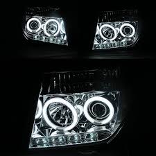 nissan pathfinder xenon lights pathfinder r51 navara d40 2005 2012 ccfl angel eye projector