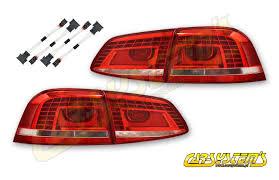 2011 vw cc led tail lights vw oem passat b7 3af led taillights adapters lhd