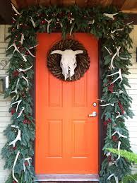 halloween door garland christmas un decorating the cavender diary