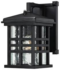 Westinghouse Lighting Fixtures Westinghouse One Light Outdoor Wall Lantern With Dusk To Sensor