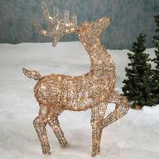 outdoor decorations deer surprising 41 best light