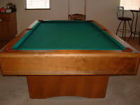 vintage 1960 fischer pool table ebay