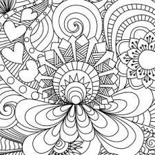 free abstract coloring photo gallery coloring pages print