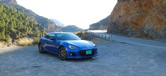 subaru blue 2017 first drive 2017 subaru brz performance package articles