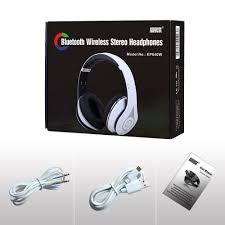 bluetooth wireless stereo headphones with microphone