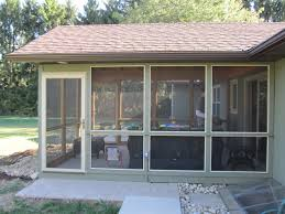 outdoor screened porch kits sunroom kit prices aluminum