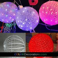 cd ho108 acrylic led lighting hanging colorful