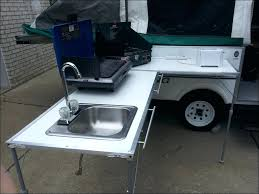 Outdoor Patio Grill Island Sinks Build Outdoor Sink Station Your Own Utility Garden Build