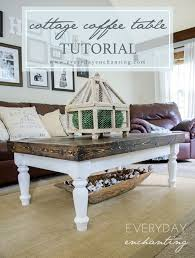 Cottage Coffee Table Diy Cottage Coffee Table