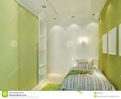 modern children u0027s room with false ceiling and spotlights stock