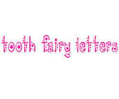 print free personalized tooth fairy letters coloring pages