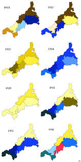 Uk Election Map by British Elections 1918 1945