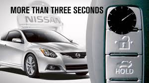 nissan altima coupe owners manual 2010 2013 nissan altima coupe nissan intelligent key and locking