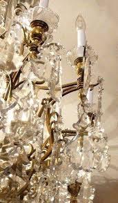 French Chandelier Antique Antique Baccarat Crystal Chandelier Antique French Baccarat