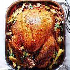 cranberry roast turkey healthy thanksgiving