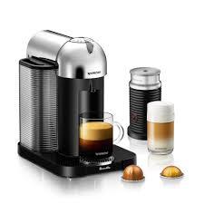 nespresso by breville vertuoline coffee and espresso maker nespresso reg by breville reg vertuoline coffee and espresso maker bundle with aeroccino