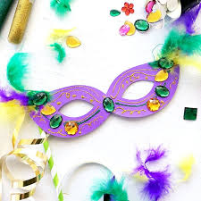 make your own mardi gras mask diy mardi gras masks with free svg 100 directions