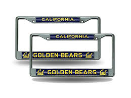uc berkeley alumni license plate compare price to cal berkeley license plate frame tragerlaw biz
