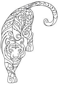 25 trending tiger design ideas on pinterest animal mandala