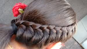 5 minute side braided hair style hair style for college