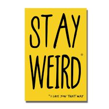 stay weird funny valentine u0027s birthday card geek greeting