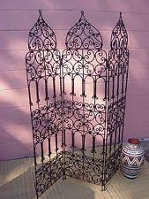 Moroccan Room Divider Wrought Iron Screens U0026 Room Dividers Ebay