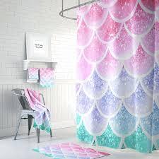 mermaid themed bathroom mermaid bath decor bathroom office and bedroom image of little