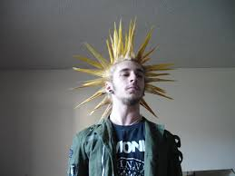 how to spike someones hair liberty spikes yellow top men hairstyles pinterest punk and