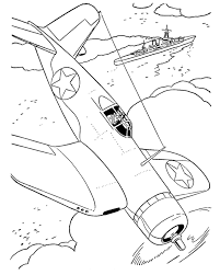 fighter aircraft drawings amd coloring sheets chance vought f4u