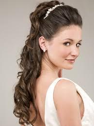 modele de coiffure pour mariage coiffure de mariage pour cheveux longs jeunes mariés mèches et