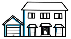 drawing houses how to draw house easy and simple drawing for kids youtube