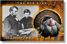 abraham lincoln pardons thanksgiving turkey tomcat56 s