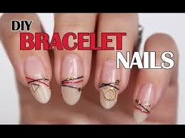 bracelet nails diy how to create your own bracelet nails with