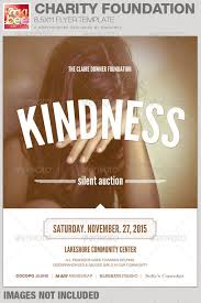 charity foundation event flyer template by rockibee graphicriver