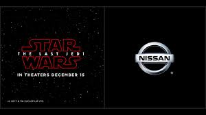 nissan rogue dogue release date nissan continues star wars support for the last jedi film