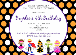 halloween background for flyer birthday invitations fabulous kids birthday party invitation