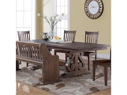 new classic san juan trestle dining table with butterfly leaf