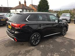black mitsubishi outlander 2016 used 2016 mitsubishi outlander phev gx 4h for sale in