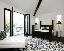 Black And White Wall Decor For Bedroom Blackandwhite Bedrooms Bedroom Decorating Ideas Pictures Black And