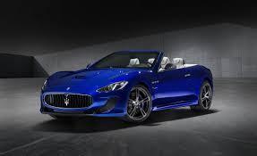 blue maserati 4 door 2015 maserati granturismo convertible information and photos