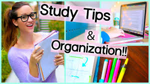 study tips organization for getting motivated for